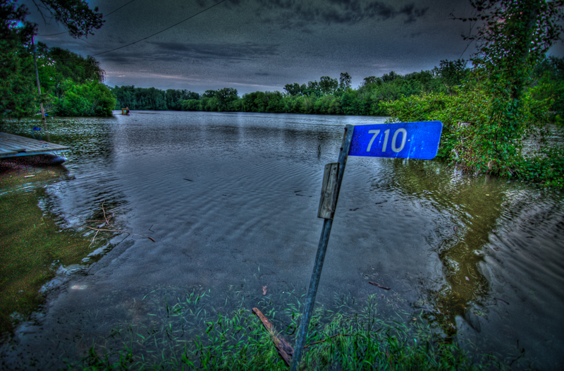 Honey Creek Farmland Flood