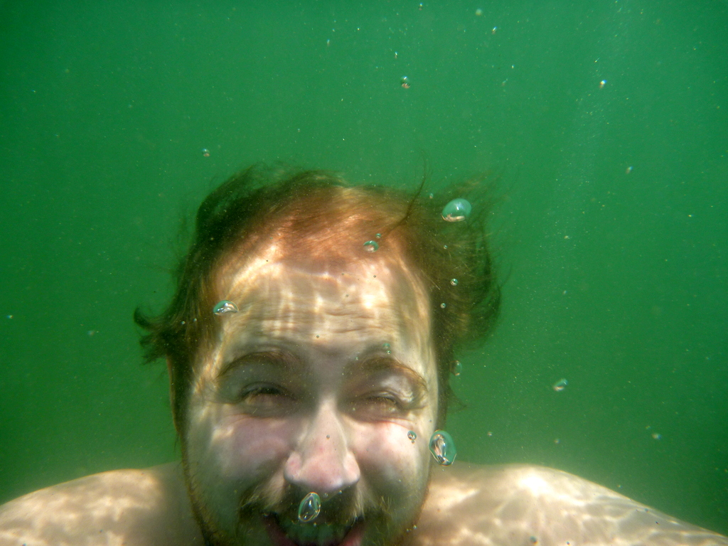Brandon Engel Underwater