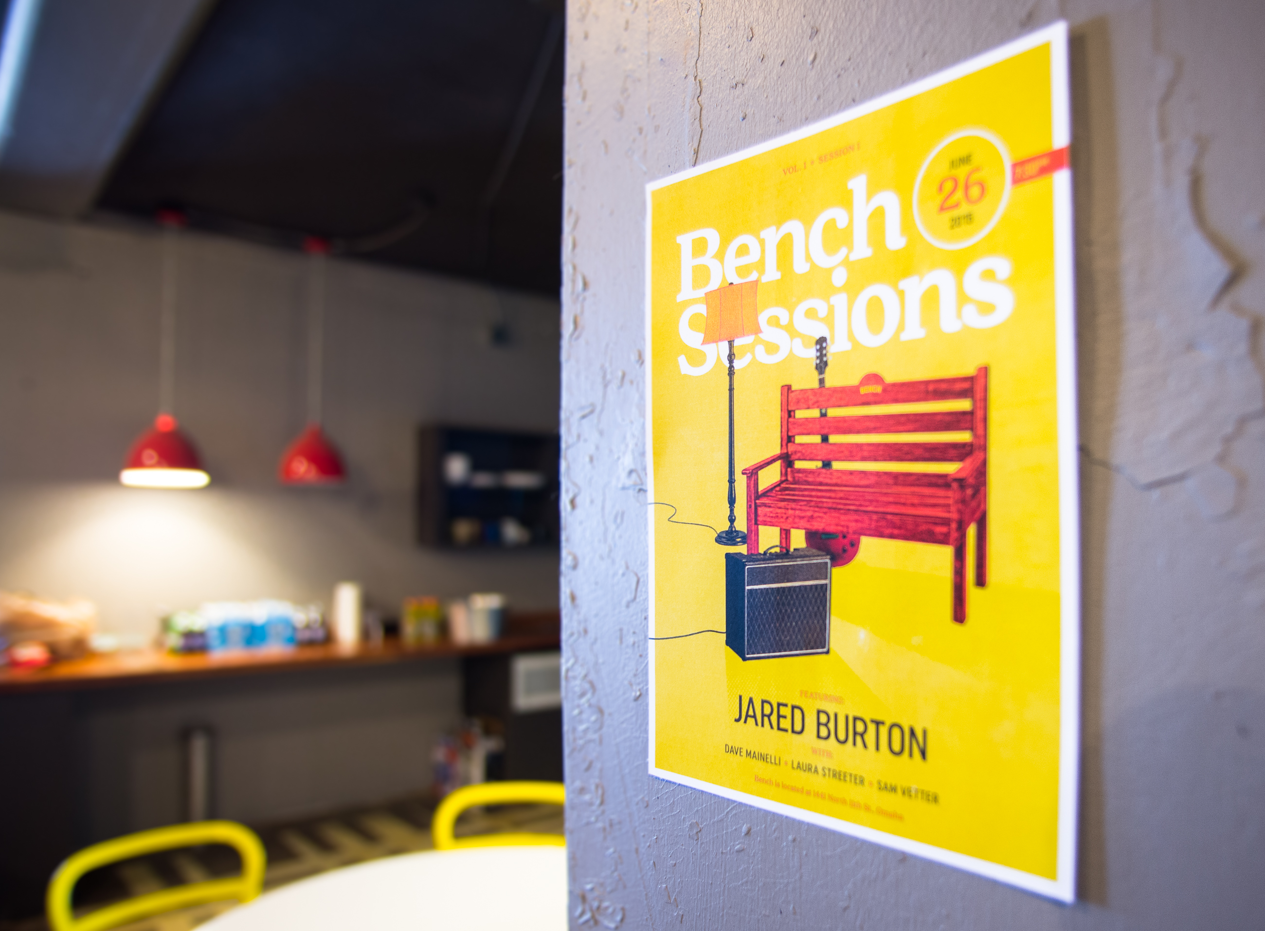 Bench Sessions Number One.